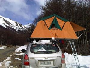 Barraca da Camping's World Aberta