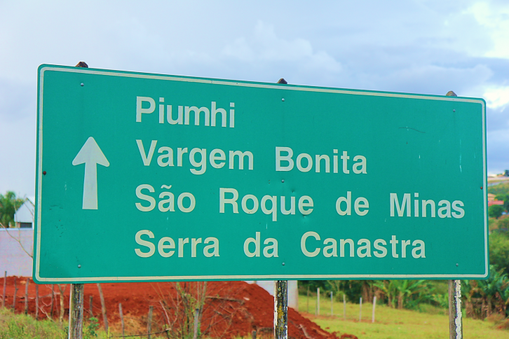 Placa - Serra da Canastra